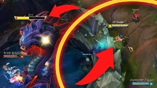 Sneaky steals Baron from pit w/ Rapid Fire | Gross Gore NA vs EU - Best LoL Stream Moments #8