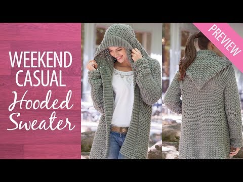 50f66b519 Weekend Hooded Sweater Free Preview - YouTube