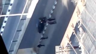 أطلاق النار بالمهندسين بين الشرطة وعناصر ارهابية