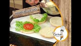 Hamburguesas Mexicanas Y Con Queso Y  / Recetas De Cocina