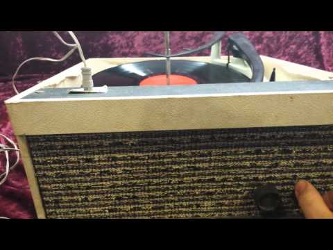 Vintage telegraph tone record player
