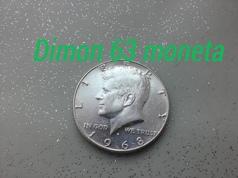 Монета 50 центов США (HALF DOLLAR) 1968 года Джон Кеннеди  !!!