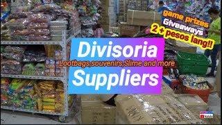 Pinakamurang Bilihan ng Lootbags ,Game prizes,Candies Pang Candy Buffet | Divisoria Suppliers