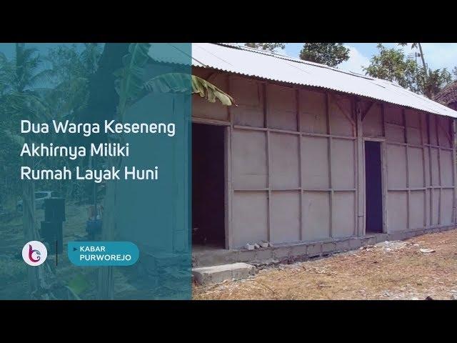 Dua Warga Keseneng Akhirnya Miliki Rumah Layak Huni