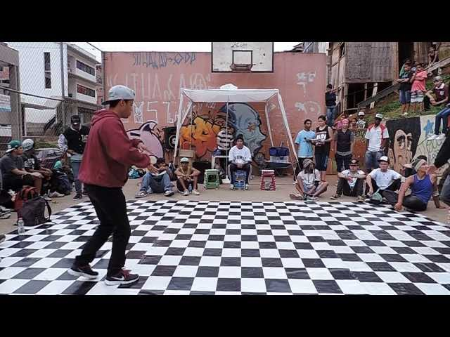 HIPHOPOLIS 2013 Bboy Thiaguinho vs Bboy Luck Videos De Viajes