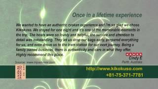 Kikokuso - REVIEWS - Kyoto Ryokan & Onsen Kyoto Reviews