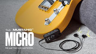 Introducing The Mustang Micro | Fender Amplifiers | Fender