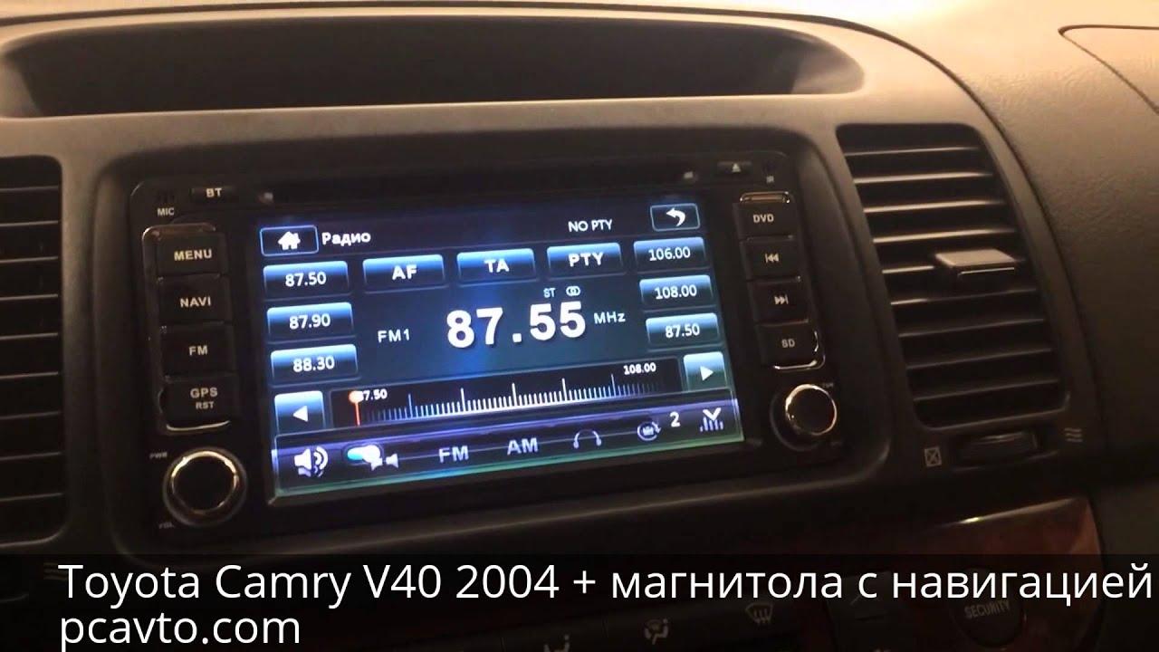 магнитола Toyota Camry v30