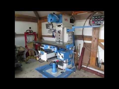 Universal overarm milling machine XQ6232
