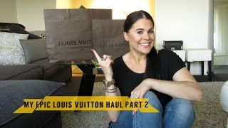 LOUIS VUITTON collective haul: Montaigne MM & Pochette Metis