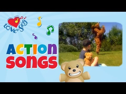 Teddy Bear Song | Kids Dance & Action Songs | Children Love to Sing