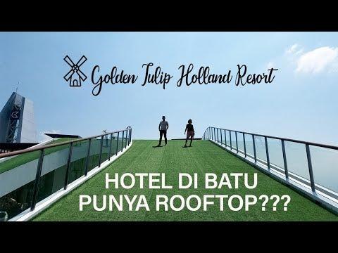 gila!!-hotel-di-batu-punya-rooftop??-|-golden-tulip-holland-resort-batu,-malang