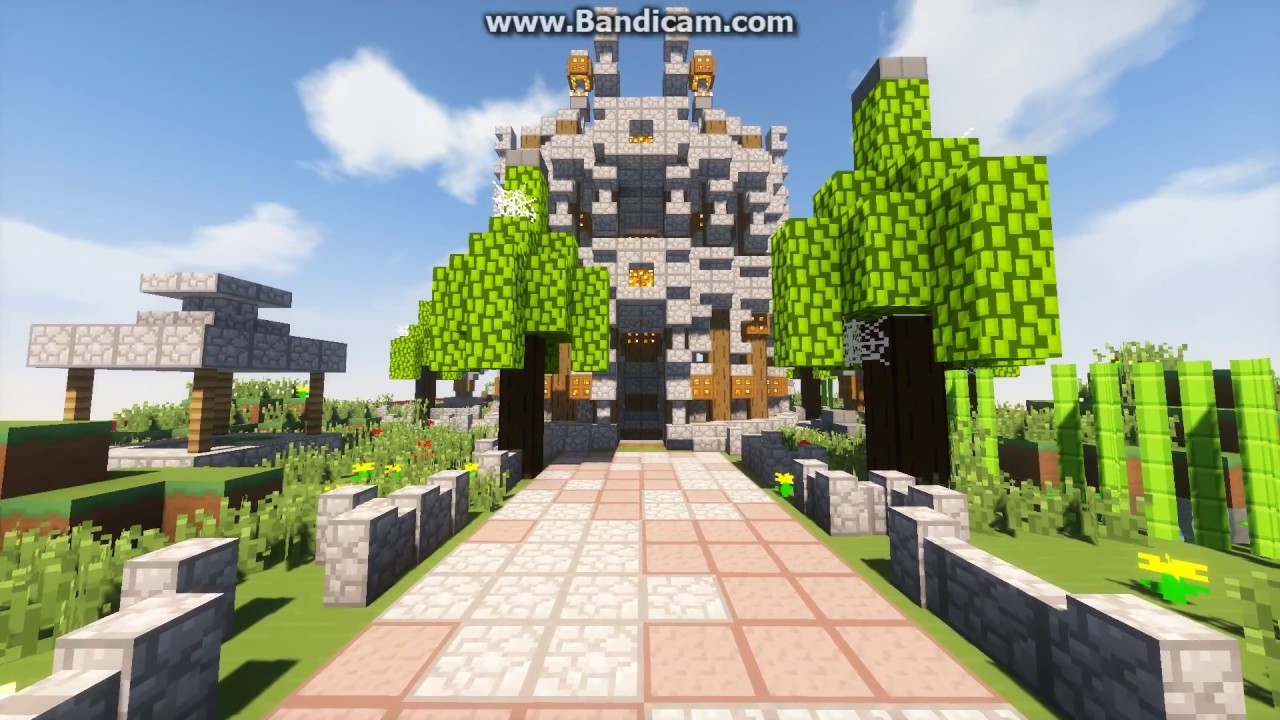 Minecraft HCF Naturalistic Base Build! HCF Cave Base Design | 50 Sub  Special| [Schem In Desc]