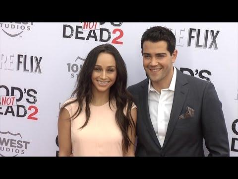 "Jesse Metcalfe & Cara Santana ""God's Not Dead 2"" Premiere Red Carpet"