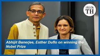 Abhijit Banerjee, Esther Duflo react after winning Nobel Prize