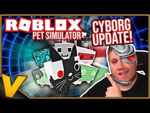 NYT OMRÅDE, NYE PETS - CYBORG UPDATE :: Pet Simulator - Roblox Dansk