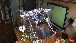 Mendel Tricolor assembling(Cборка 3D-Принтера RepRap Mendel Tricolor (больше чем 20 часов работы - за 40 минут)., 2014-06-11T11:10:38.000Z)