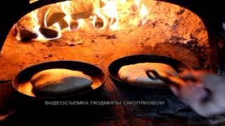 Как пекутся блины в печи в Костюковичском районе