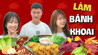 Bánh Khoai Lang Rán - Gãy TV