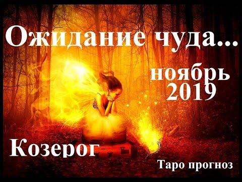 КОЗЕРОГ. НОЯБРЬ 2019.  Ожидание чуда… Прогноз Tarot.