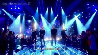 Westlife - Beautiful World (Live) HD - Lyrics on screen