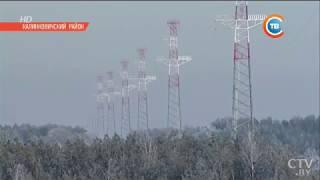 самая высокая ЛЭП 110 кВ в Беларуси