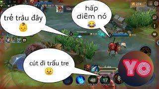 Troll Game _ Giả Trẻ Trâu Được Nghỉ Vào Game Và Cái Kết SML | Yo Game