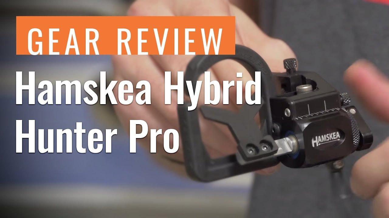 Hamskea Hybrid Hunter Pro Micro Arrow Rest Concrete Right Hand
