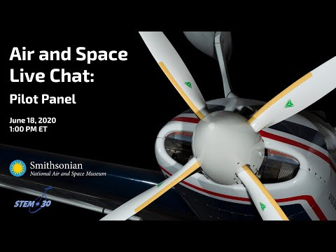 Air And Space Live Chat: Pilot Panel With Shaesta Waiz And  U2 Pilot Maj. Kristofer Duckett