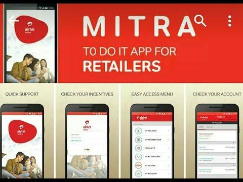Airtel Mitra (Airtel Retailer App) Review
