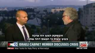 Bennett on CNN: Hamas is committing massive self-genocide to its women and children