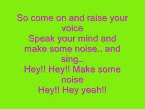 Hannah Montana-Make Some Noise FULL+LYRICS