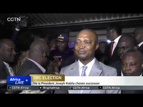Shadary unveils his election manifesto ahead of DR Congo elections