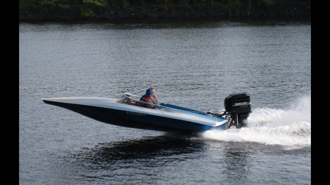 Small Sleek Speed Boat Lowell Massachusetts Usa Youtube