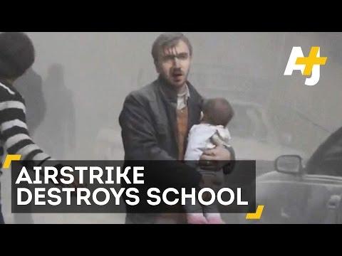 Airstrikes In Syria Kills Dozens Including Children