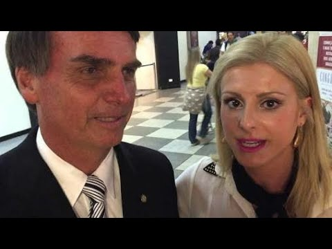 """Máscara da Globo CAIU! Conheça a """"funcionária fantasma"""" do Bolsonaro, Wal"""