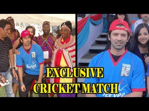 EXCLUSIVE - Barun Sobti's EXCLUSIVE KENYA CRICKET PHOTOS - MUST WATCH !!!