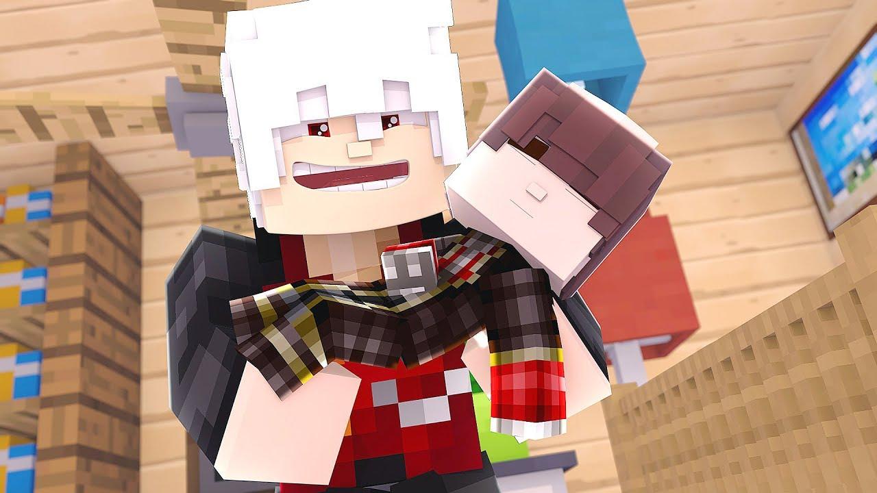 Minecraft - ROMANCE DE VAMPIROS #29 - MEU AMIGO VAMPIRO TEM UM FILHO VAMPIRO?!