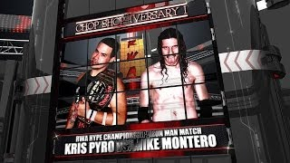 Rwa Chop Shop-iversary - Iron Man Match - Kris Pyro Vs Mike Montero