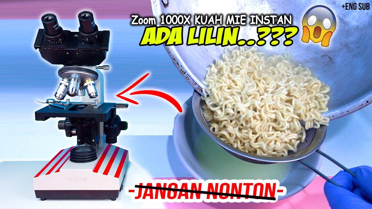 ADA LILIN DI AIR REBUSAN MIE INSTAN? | Kuah Indomie vs Mie Sedaap Zoom 1000X Microscope