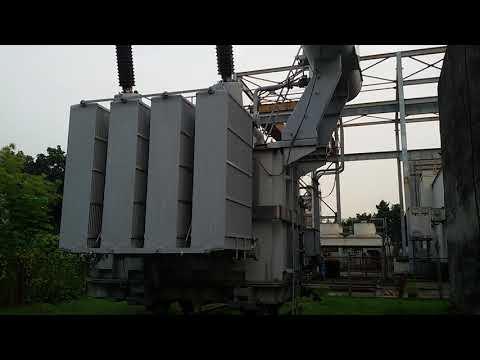 15/132 kV, 55 MVA Single Phase Power Transformer.