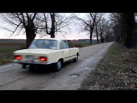 FSO Fiat 125p MR75- Jazda, Krótki Przejazd.