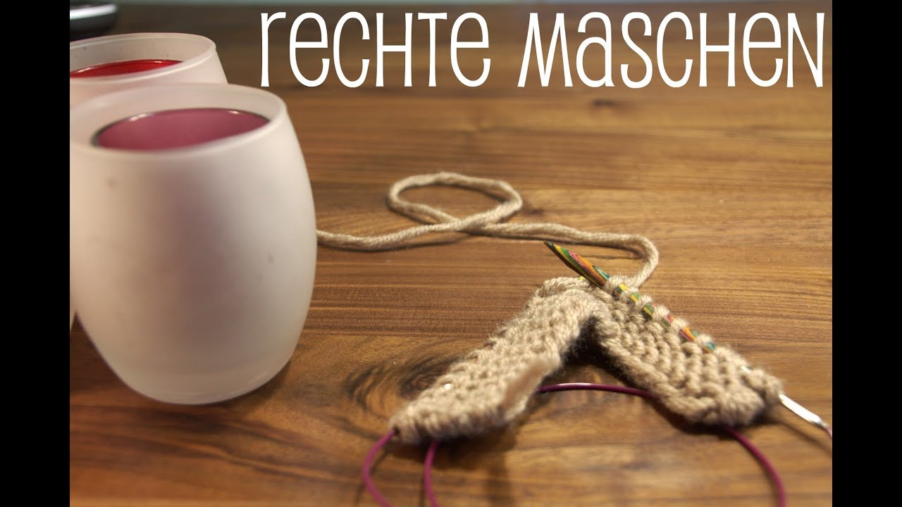 basics maschen aufnehmen und rechte maschen stricken. Black Bedroom Furniture Sets. Home Design Ideas