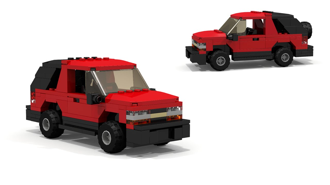 LEGO Chevrolet S-10 Blazer 2-door Instructions - YouTube