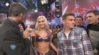 ¡Bailarinas no! Oscar y Stephan Ruggeri bailaron cuarteto y Candela se le plantó a Tinelli