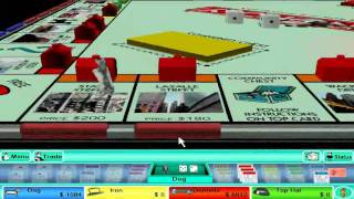 Monopoly 3 - Versus 3 Tycoon Players