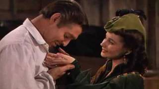 """Gone With The Wind -scarlett And Rhett """"love You Madly"""""""