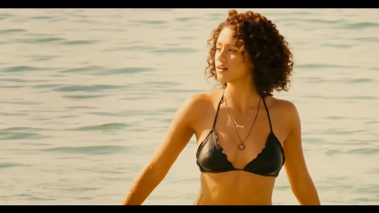 nathalie emmanuel || hottest bikini show ever || hd 1080p - youtube
