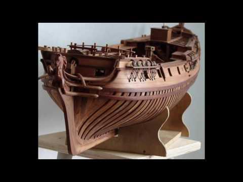 Смотреть онлайн Модели кораблей своими руками