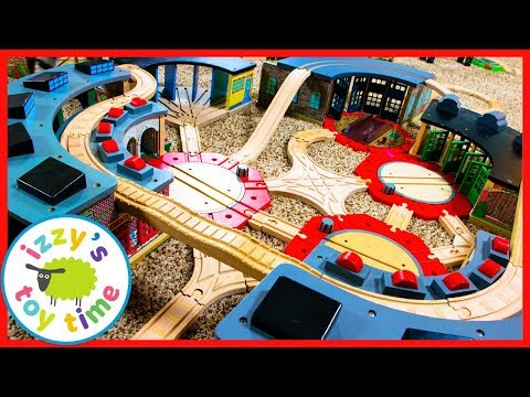 NINE SHEDS! Thomas and Friends with Brio! Fun Toy Trains for Kids!